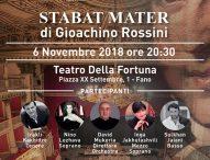 Al teatro della Fortuna il concerto Stabat Mater di Giochino Rossini