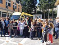 A San Lorenzo in Campo nuovo scuolabus
