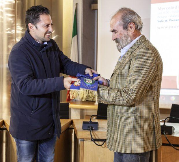 Giuseppe Paolini è il 20esimo presidente della Provincia di Pesaro e Urbino