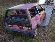 Smaltimento irregolare di carcasse di autovetture, pesanti sanzioni ai proprietari