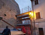 San Lorenzo in Campo, restyling dell'arco di pizza Padella e per l'ex scuola media progetto pronto