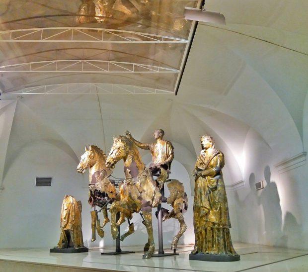 Ultimo dell'anno di arte e cultura con l'apertura straordinaria del Museo dei Bronzi Dorati di Pergola
