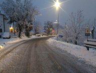 Neve, la situazione sulle strade provinciali