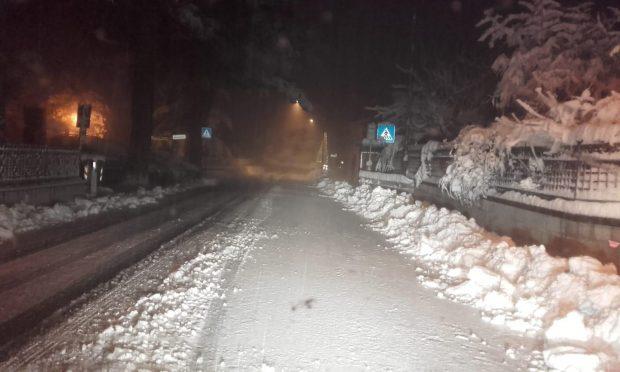 Disagi per neve nelle Marche