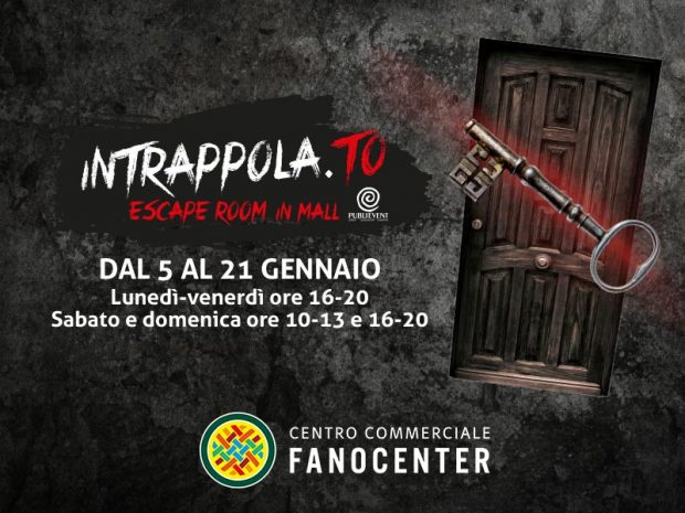 Al Fanocenter arriva l'escape room Intrappola.to