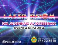 Al Fanocenter arriva l'adrenalinica Laser Room