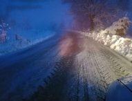 Neve, 30 mezzi impiegati sulle strade provinciali: la situazione