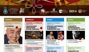 """""""1 palco 1000 emozioni"""": a San Lorenzo in Campo parte la ricchissima stagione teatrale"""