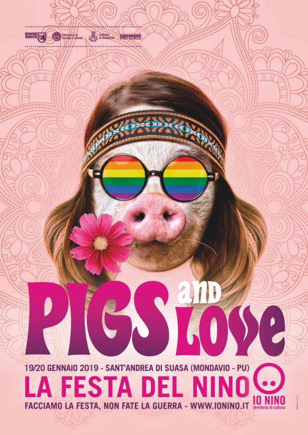 'Pigs and Love: facciamo la festa, non fate la guerra', sabato e domenica torna La Festa del Nino