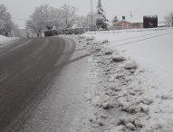 Neve, situazione delle strade provinciali
