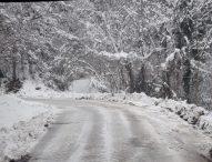 Interventi di sgombero neve nelle zone più alte del territorio provinciale