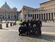 I piloti dell'Aero Club Fano da Papa Francesco