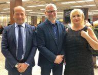 Varotti incontra Ministro della giustizia canadese. E' di origine marchigiana con zie a Pergola e Pesaro