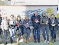 'Frammentiuniti', arte e mosaico per la riqualificazione urbana di Marotta. Diotallevi presenta 'Big Fish'