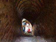 Pincio di Fano, professionisti speleologi ispezionano i cunicoli