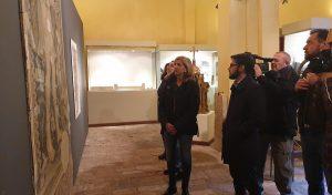 'Un segno per la rinascita', a Mondolfo in mostra gli affreschi recuperati dal sisma