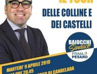 "Pesaro, Baiocchi a Candelaraper ""Prima c'è il quartiere tour"""