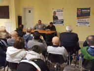 Pesaro, Nicola Baiocchi in ascolto dei cittadini del quartiere San Bartolo