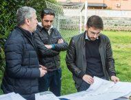 """Mondolfo, tutto pronto per l'inizio dei lavori al campo sportivo """"E. Fermi"""