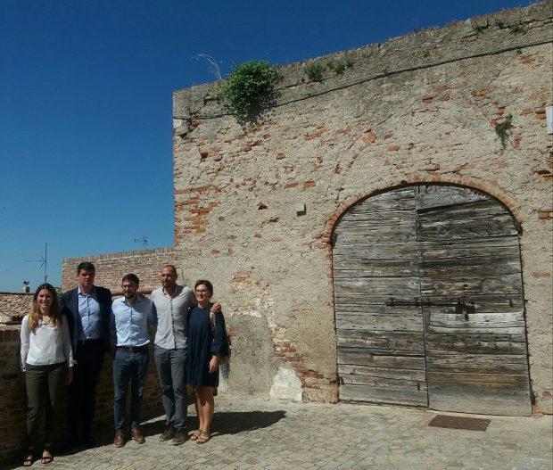 Mondolfo, il Bastione Sant'Anna si rifà il look