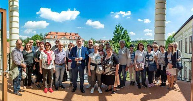 Amici senza frontiere a Wieliczka in visita alla città gemellata con Fano