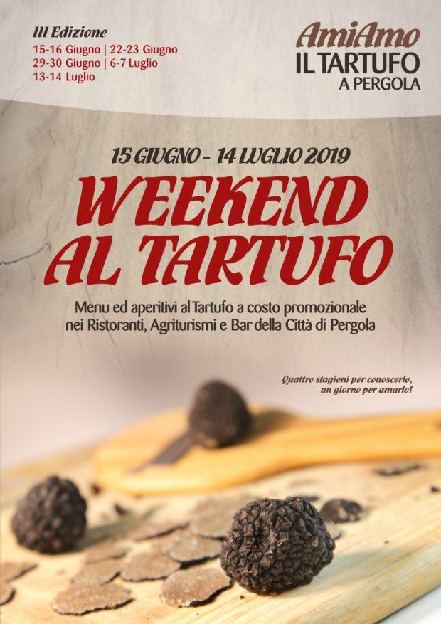 AmiAmo il Tartufo a Pergola: 5 week-end per gustare il tartufo e i migliori vini locali