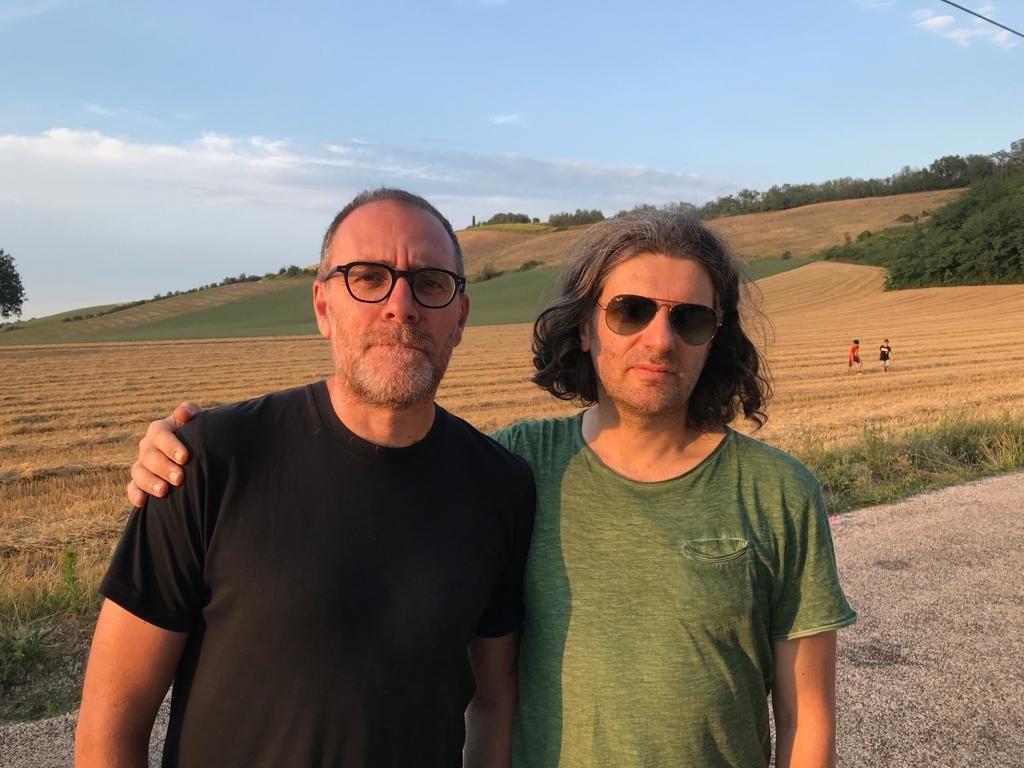 Valerio Mastandrea e Simone Massi