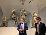 Sala immersiva e promozione: boom di visitatori al Museo dei Bronzi di Pergola. La soddisfazione di Confcommercio