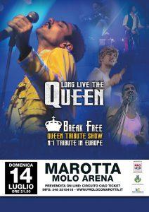 marotta concerto spettacolo tribute queen