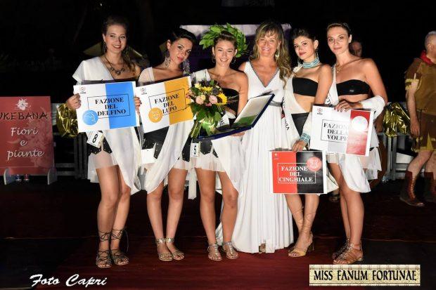 La Fano dei Cesari celebra la bellezza con Miss Fanum Fortunae – La bella Ottavia