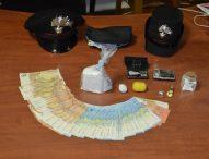 Due etti di cocaina purissima, due arresti