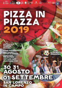 pizza in piazza 2019