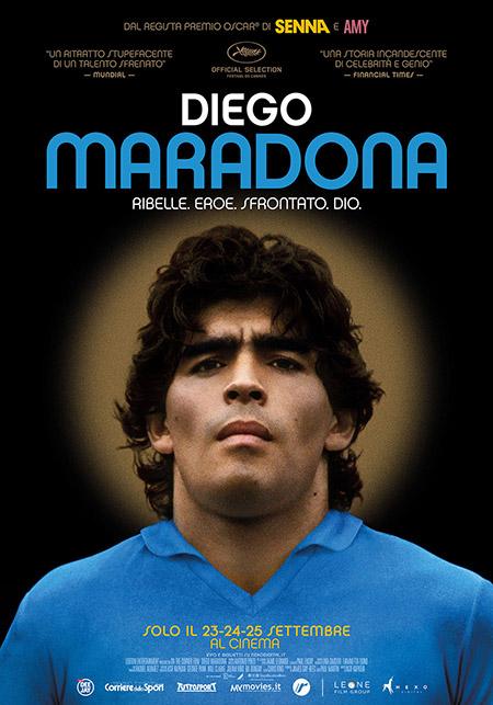 """Diego Maradona"" del premio Oscar Asif Kapadia: appuntamento speciale al Malatesta e Politeama"