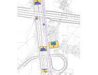 Terza corsia dell'A14, le modifiche alla viabilità