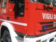 Cercatore di tartufi cade nel dirupo: vento ferma soccorso elicotteri, recuperato dai Vigili del fuoco