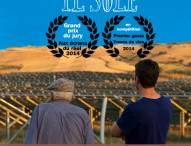 """Cinema alla cantina Terracruda, """"Là dove batte il sole"""" documentario del laurentino Diego Feduzi"""