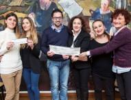 Assegno di 1400 euro per sensibilizzazione nelle scuole contro la violenza sulle donne