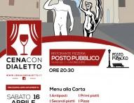 Nuova tappa per 'Cena con dialetto': sabato 16 aprile a Calcinelli