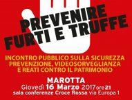 """""""Prevenire furti e truffe"""", incontro a Marotta"""