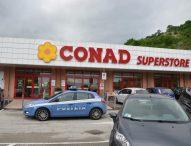 Furto al supermercato, la polizia individua i responsabili