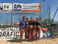 Weekend di beach-volley col CSI Fano