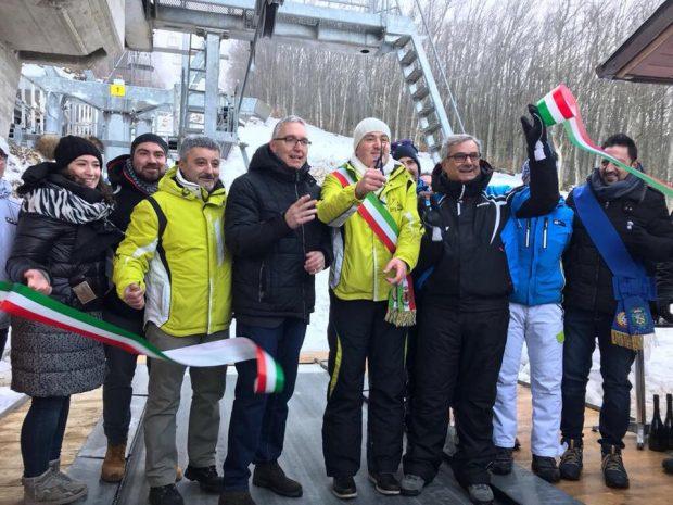 Catria, inaugurata la nuova seggiovia