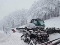 Sul Monte Catria un metro di neve. La situazione di tutte le strade