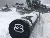 Primavera con la neve nella Valcesano. E sul Catria si torna a sciare