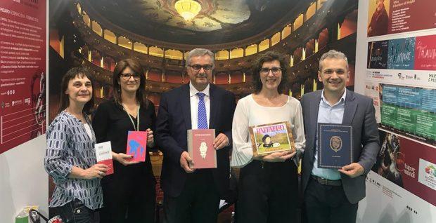 """Salone del Libro di Torino, Minardi presenta la """"Bellezza infinita"""" della provincia di Pesaro e Urbino"""