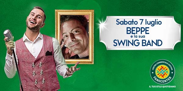 Concerto swing al centro commerciale Fanocenter