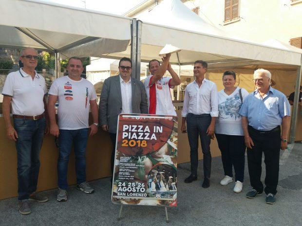 Al via Pizza in Piazza: dalla pizza Tiberini alla Nazionale Acrobati Pizzaioli