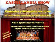San Costanzo, a teatro lo spettacolo dei ragazzi del centro estivo dell'oratorio Don Bosco