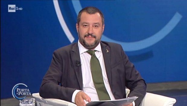 Matteo Salvini a Fano per la Festa regionale della Lega