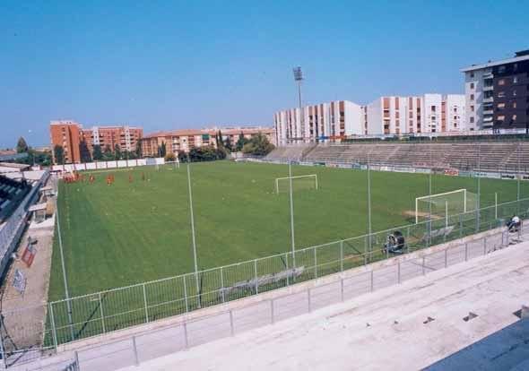 Fano, stadio Mancini: proseguono i lavori di restyling